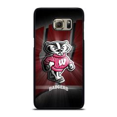 WISCONSIN BADGER LOGO Samsung Galaxy S6 Edge Plus Case Cover  Vendor: Favocase Type: Samsung Galaxy S6 Edge Plus case Price: 14.90  This extravagance WISCONSIN BADGER LOGO Samsung Galaxy S6 Edge Plus Case Cover shall generate impressive style to yourSamsung S6 Edge phone. Materials are produced from strong hard plastic or silicone rubber cases available in black and white color. Our case makers personalize and create every case in finest resolution printing with good quality sublimation ink… Samsung Note 8 Phone, Samsung S7 Edge Cases, Samsung Galaxy S9, Galaxy S8, S7 Phone, Samsung S9, Wisconsin Badgers, Silicone Rubber, Plastic