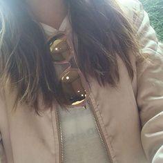 Love my @selfsameofficial sunglasses