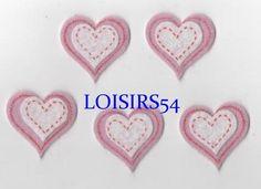 Coeur feutrine rouge et blanc 35 mm autocollant lot de 5 pièces pour décoration : Déco, Customisation Textile par loisirs54 http://www.alittlemercerie.com/deco-customisation-textile/coeur_feutrine_rouge_et_blanc_35_mm_autocollant_lot_de_5_pieces_pour_decoratio-5021507.html