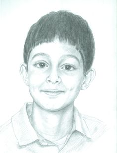 Boy, from a class photo. Size A3.
