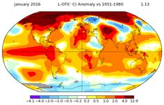 Scientists say the region has been 'absurdly' warm lately, perhaps due to the influence of El Niño.