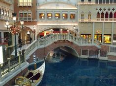 "The Venetian, Las Vegas. FREE. Walk around the ""canal"" shops at The Venetian. It's kind of on the short side, but there are gondolas and singing gondoliers dressed in traditional attire. Surrounded by upscale shops. A place to eat at the end."