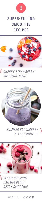 Healthy high fiber smoothie recipes