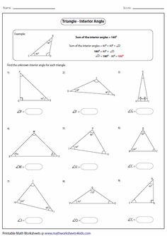 Angles In A Triangle Worksheets – Worksheets Samples Matter Worksheets, Geometry Worksheets, Printable Math Worksheets, Congruent Triangles Worksheet, Triangle Worksheet, Finding Missing Angles Worksheet, Simple Present Tense Worksheets, Triangle Inequality, Triangle Angles