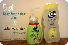 Dial Baby Body + Hair Wash & Kids Foaming Hand Soap Review + GIVEAWAY!!
