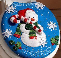 Bucilla-Snowman-Felt-Christmas-Bath-Ensemble-Kit-86155-Greetings-Frosty
