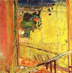 The workshop with Mimosa - Pierre Bonnard