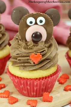 Valentines Day Bear Cupcakes Happy Valentine Day HAPPY VALENTINE DAY | IN.PINTEREST.COM WALLPAPER EDUCRATSWEB