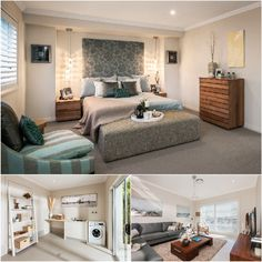 Discover one of @mastertonhomes' most popular designs featuring an impressive #bedroom and spacious #livingroom. On display at Camden North ( #GledswoodHills ), on Camden Valley Way!   #HomeDesign #bed #bedroom #bedrooms #bedroomview #bedroomdesign #home #livingroom #livingrooms #familyroom #livingroomdecor #livingroomdesign