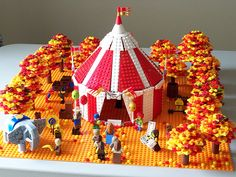 LEGO SET - Fall Circus #Bigtop #Elephant