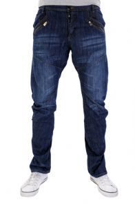 Mens Dark Wash Jeans £26.00 http://www.bravesoul.co.uk/shop/men/jeans #slouchy #mensfashion