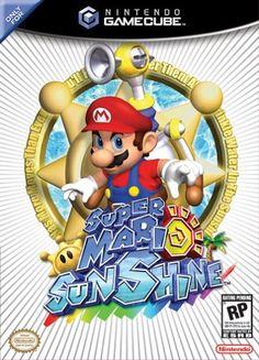 ¡Super Mario Sunshine (スーパーマリオサンシャイン) cumple hoy 15 años!  El 19 de Julio de 2002 llegó a las tiendas japonesas (para Nintendo Gamecube) el segundo videojuego de Super Mario en entorno 3D. Fue desarrollado por la EAD de los de Kyoto y tuvo a Shigeru Miyamoto como productor y diseñador principal, y a Koji Kondo y Shinobu Tanaka encargándose de las melodías de un muy buen título que fue record de ventas pero con críticas dispares.