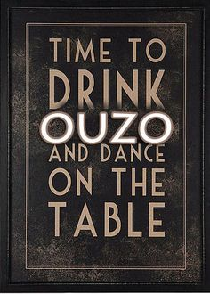 Time to drink Ouzo and dance on the table! This is travelling to #Greece!