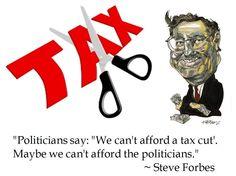 Steve Forbes on Taxes