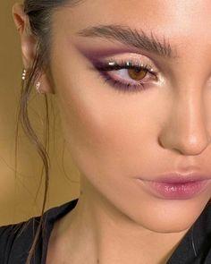 Edgy Makeup, Makeup Eye Looks, Eye Makeup Art, Cute Makeup, Eyeshadow Looks, Skin Makeup, Eyeshadow Makeup, Beauty Makeup, Pretty Makeup Looks