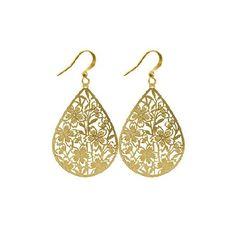 Shopcaster - LAVISHY Boutique: Filigree earrings-Osak
