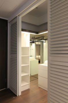 Master Bedroom Layout, Bedroom Layouts, Attic Conversion, Bedroom Wardrobe, Walk In Closet, Dressing Room, Built Ins, My Room, Bedroom Decor