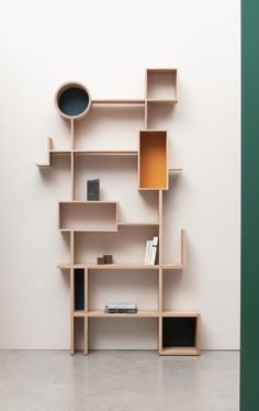 """Always read something that will make you look good if you die in the middle of it"" - P. O'ROURKE - ('Réso' Shelving System designed by Design Drugeot) Cool Furniture, Furniture Design, Furniture Ideas, Bookshelves, Bookcase, Etagere Design, Interior Decorating, Interior Design, Shelf Design"