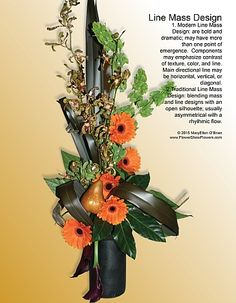 77 Best Line Design Mass Design Images Floral Arrangements