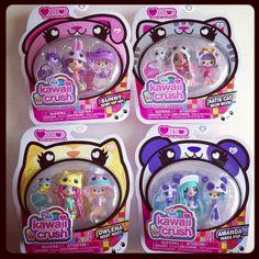 Kawaii Crush: Cuddly Pet Collection by nevraforever, via Flickr Little Pet Shop, Little Pets, Doll Toys, Barbie Dolls, Kawaii Crush, Party Pops, Kawaii Doll, Lol Dolls, Cute Toys