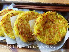 바삭바삭한 치즈 고구마 해시 브라운