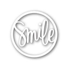 Simon Says Stamp SMILE CIRCLE Wafer Thin Die sssd111480