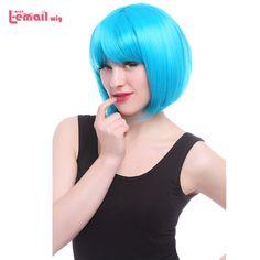 $12.99 (Buy here: https://alitems.com/g/1e8d114494ebda23ff8b16525dc3e8/?i=5&ulp=https%3A%2F%2Fwww.aliexpress.com%2Fitem%2FFree-shipping-cute-lady-s-fashion-35cm-short-straight-white-Lolita-Bob-cosplay-party-hair-Full%2F1339590910.html ) Free Shipping Fashion 10 Colors Heat Resistant Harajuku Women Synthetic Short Pink Green White Red Purple Blonde Bobo Bob Wig for just $12.99