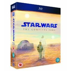 Star Wars the complete saga on Blueray