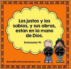 Semana 6 VIERNES - Versículo diario - Eclesiastés Niños - Encontrando Propósito…