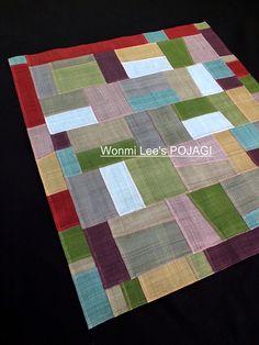 ウォンミ リーのポジャギな日々 Korean Crafts, Darning, Handicraft, Embroidery Stitches, Fiber Art, Crafty, Quilts, Knitting, Sewing