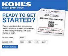 www.Kohls.com/Survey - Kohl's Survey