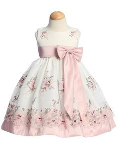 Infant Toddler Girls Princess Dress Rose Embroidered Organza Spring Summer 558 in Clothing, Shoes & Accessories, Baby & Toddler Clothing, Girls' Clothing (Newborn-5T) | eBay