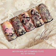 Moyra Stamping Plates #5 Vintage