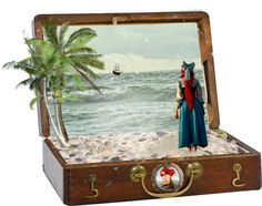 """""""Looking Out to Sea box"""" by princesschandler ❤ liked on Polyvore"""