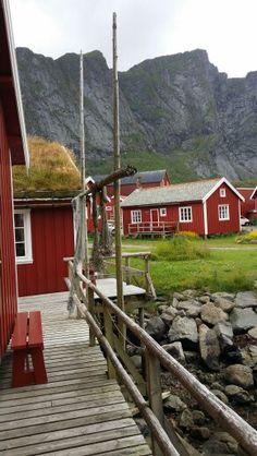 Reine rorbuer, Lofoten, Norway