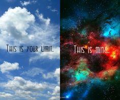 sky, text, galaxy