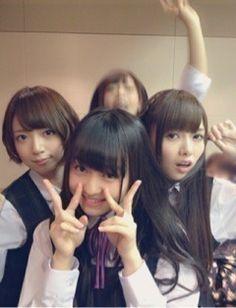 乃木坂46 (nogizaka46) Hashimoto Nanami (橋本 奈々未) Shiraishi Mai (白石 麻衣) Ito Marika (伊藤 万理華) ♥ ♥ ♥ ♥