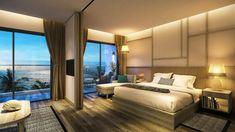 Nét độc lạ của căn hộ cao cấp|chung cư|nhà ở} khách sạn 100% mặt tiền biển tại Melia Hồ Tràm at The Hamptons