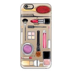 iPhone 6 Plus/6/5/5s/5c Case - Beauty Editor Fashion Makeup... (150 SAR) ❤ liked on Polyvore featuring accessories, tech accessories, electronics, iphone case, apple iphone cases and iphone cover case