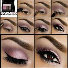 Wie Smokey Eye Make-up zu tun? - Top 10 Tutorial-Bilder für 2019 How to do smokey eye makeup? - Top 10 tutorial pictures for up # Thi eye make up makeup makeup up artistico up night party make up make up gold eye make up eye make up make up Purple Eye Makeup, Pink Eyeshadow, Colorful Eyeshadow, Makeup Eyeshadow, Lancome Eyeshadow, Purple Eyeliner, Makeup Contouring, Eyeshadow Palette, Eye Makeup Tutorials