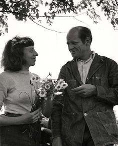 JACKSON POLLOCK se casó con la pintora LEE KRASNER en 1945, la cual le brindó todo su apoyo siempre, a pesar de las adversidades, y de los múltiples vicios de Pollock.