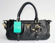 Prada 80042 Elegant Ladies Bag-Black