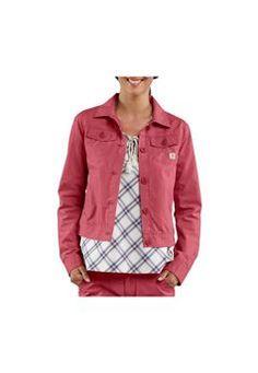 $84.99 Carhartt Womens WJ026WRS Trail Wild Rose Jacket| http://camouflage.ca