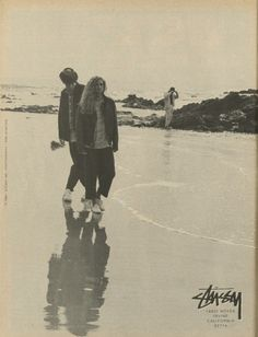 Stussy - Low Tide Ad (1988)