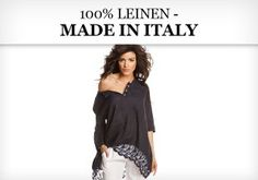 100% Leinen - made in Italy
