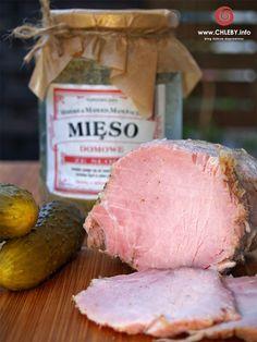 Pieczenie chleba i inne przepisy: Mięso ze słoika Polish Recipes, Polish Food, I Want To Eat, Smoking Meat, Holiday Recipes, Food To Make, Sausage, Pork, Cooking Recipes