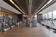 35 ideas for home gym decor luxury swimming pools Gym Interior, Luxury Interior, Interior Design, Shanghai, Luxury Gym, Gym Lighting, Hotel Gym, Home Gym Decor, Luxury Swimming Pools
