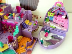 Polly Pocket Snow Moutain