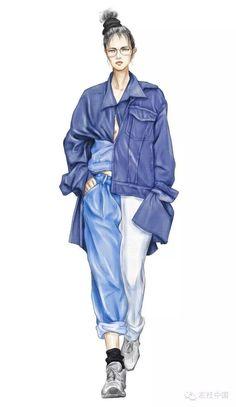 Dress Design Drawing, Dress Design Sketches, Fashion Design Sketchbook, Fashion Design Portfolio, Fashion Design Drawings, Fashion Illustration Poses, Illustration Mode, Fashion Illustrations, Fashion Model Sketch