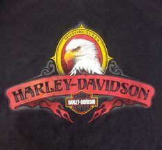Motorcycle Logo, Harley Davidson Motor, Harley Davison, Road King, Vintage Pins, Slogan, Biker, Eagle, Trucks